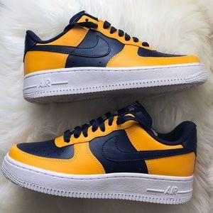 le scarpe nike air force 1 basso alto id donne dimensioni 7 poshmark